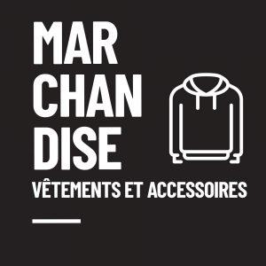 Marchandise - Vêtements et accessoires